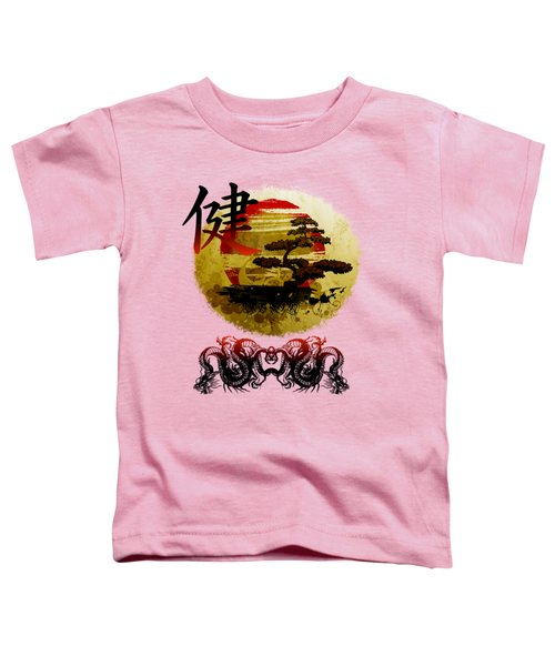 Health Oriental Symbol Toddler T-Shirt