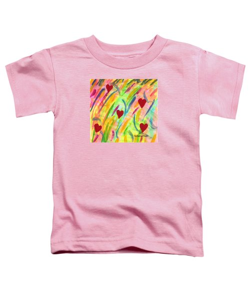 heARTs of Spring Toddler T-Shirt