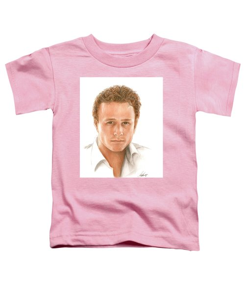 Heath Toddler T-Shirt by Bruce Lennon