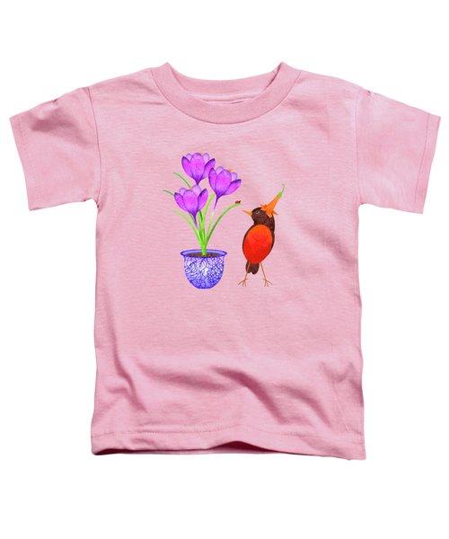 Hello Spring Toddler T-Shirt