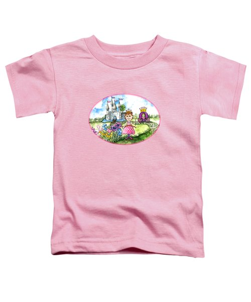 Her Royal Princess Toddler T-Shirt by Shelley Wallace Ylst