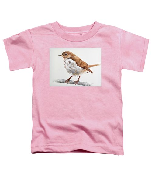 Hermit Thrush Toddler T-Shirt