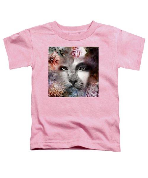 Hiding Catlady Toddler T-Shirt