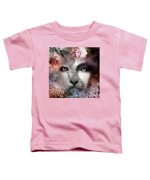 Hiding Catlady Toddler T-Shirt