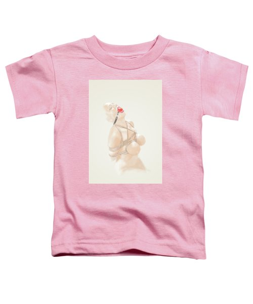 Toddler T-Shirt featuring the mixed media Holy Light by TortureLord Art