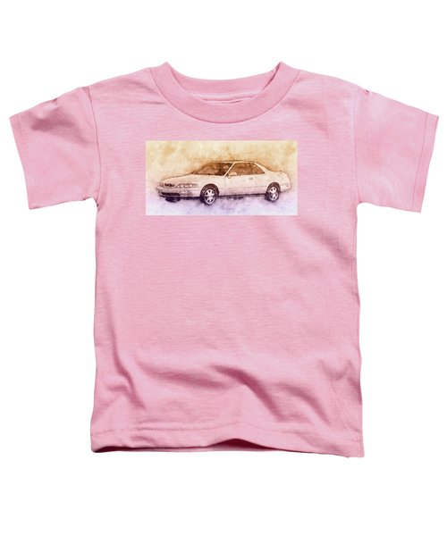 Honda Acura Legend 2 - Executive Car - 1985 - Automotive Art - Car Posters Toddler T-Shirt