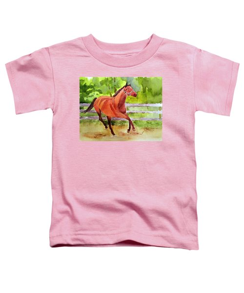 Horse #3 Toddler T-Shirt