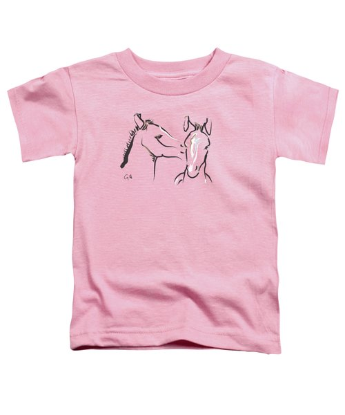 Horse-foals-together 6 Toddler T-Shirt