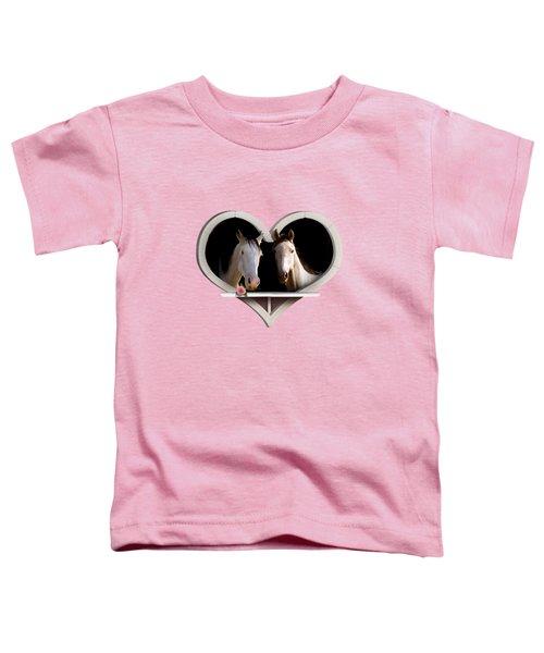 Horse Lovers Toddler T-Shirt