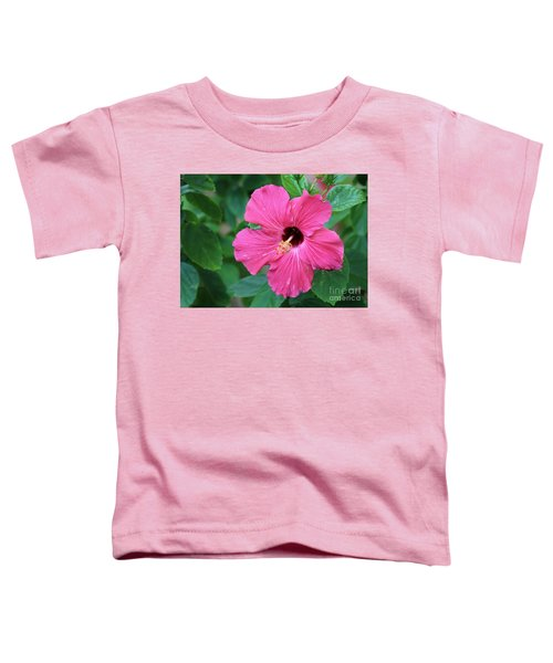 Hot Pink  Toddler T-Shirt