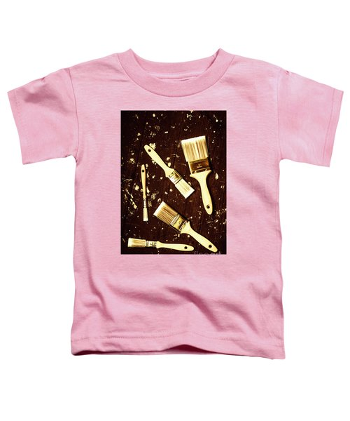 House Paint Abstract Toddler T-Shirt