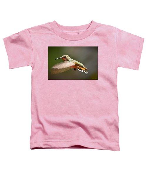 Hummingbird Facing Left Toddler T-Shirt