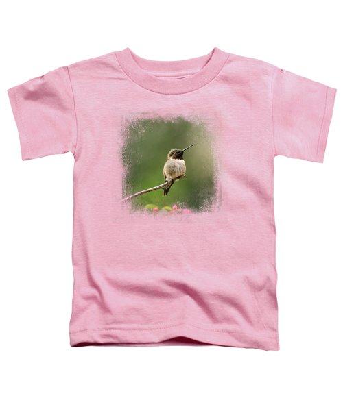 Hummingbird In The Garden Toddler T-Shirt