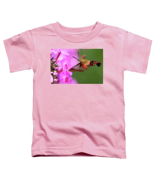 Hummingbird Moth Feeding 2 Toddler T-Shirt