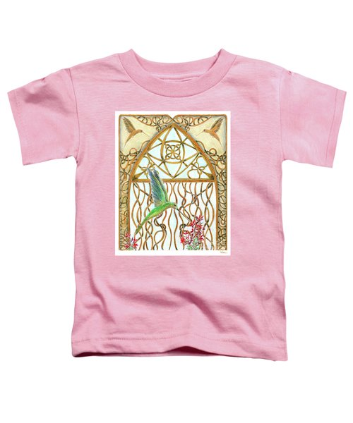 Hummingbird Sanctuary Toddler T-Shirt