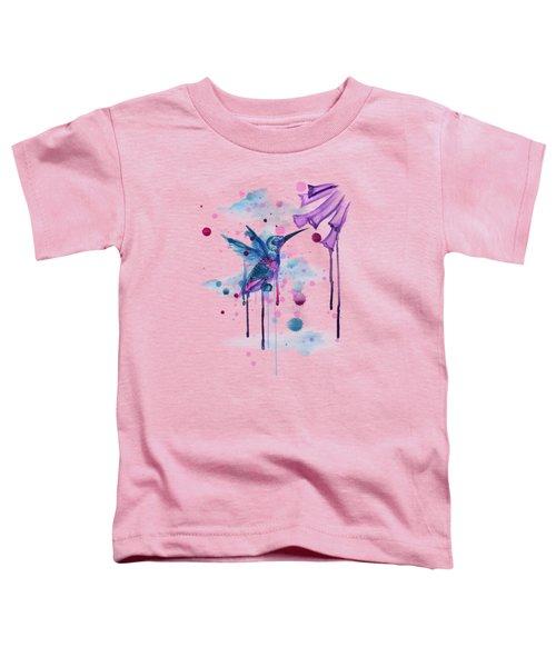 Hummingbird Skeleton 2.0 Toddler T-Shirt