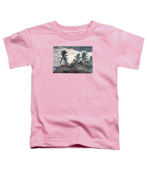 Hurricane In Bahamas Toddler T-Shirt