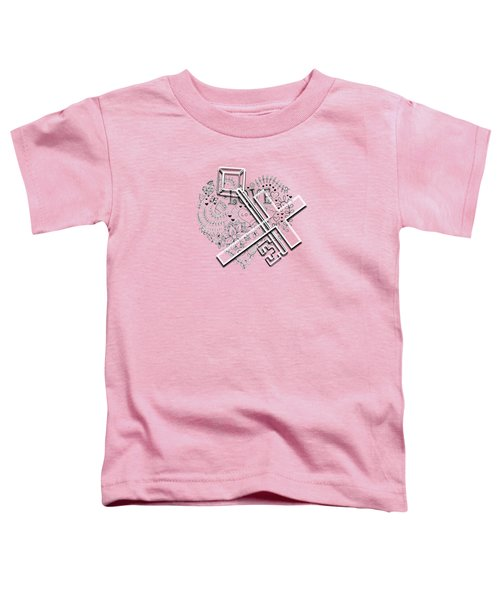 I Give You The Key Of My Heart Toddler T-Shirt