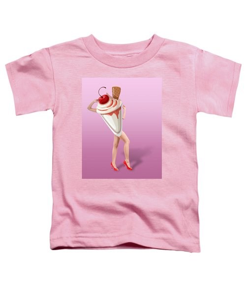 Ice Cream Woman 2 Toddler T-Shirt