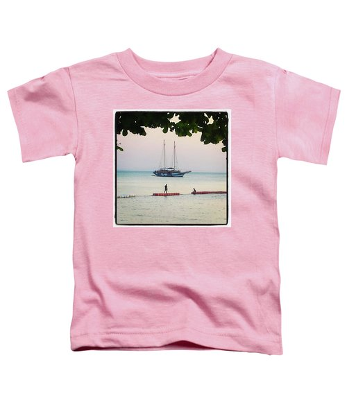 Toddler T-Shirt featuring the photograph Idyllic Setting To Idle The Time Away by Mr Photojimsf