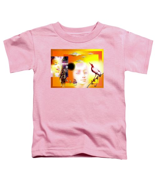 Illusion  Of Reality Toddler T-Shirt