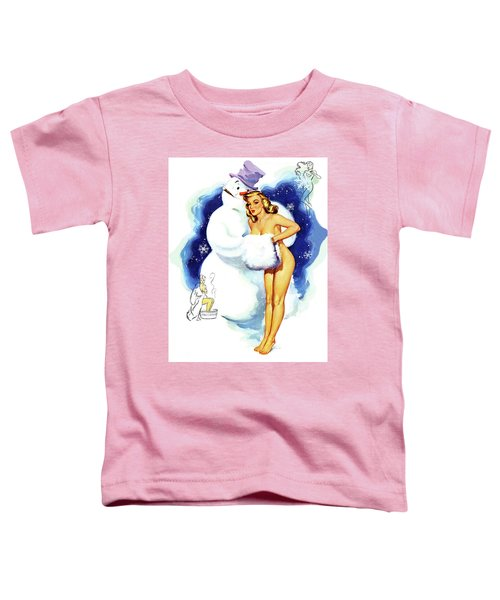 In Snowman's Arms Toddler T-Shirt