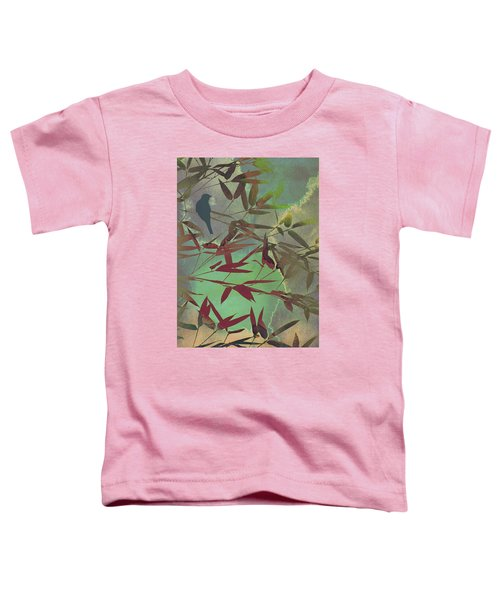 In The Bamboo Forest Toddler T-Shirt by AugenWerk Susann Serfezi