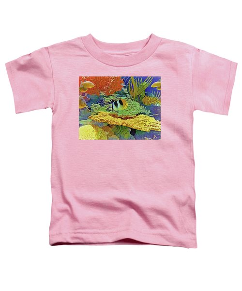 In The Coral Garden 10 Toddler T-Shirt