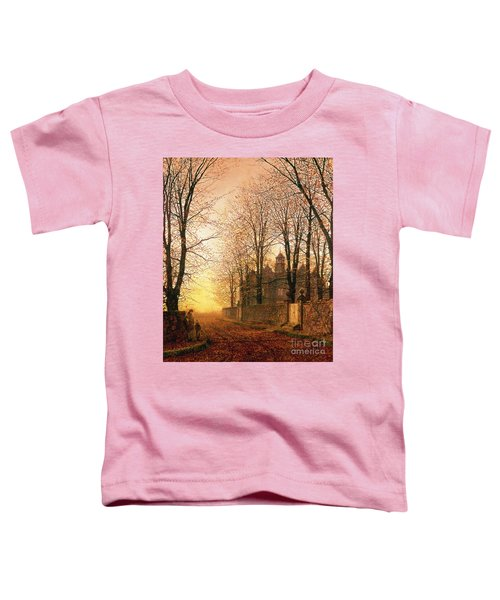 In The Golden Olden Time Toddler T-Shirt