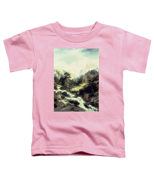 In The Teton Range Toddler T-Shirt