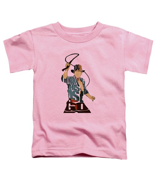Indiana Jones - Harrison Ford Toddler T-Shirt