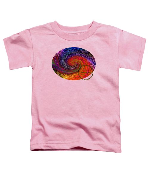 Inspirational - God Looks Upon The Heart Toddler T-Shirt