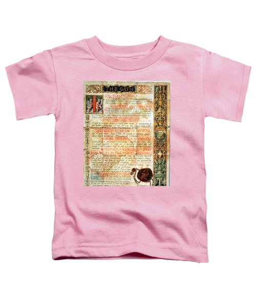 International Code Of Medical Ethics Toddler T-Shirt