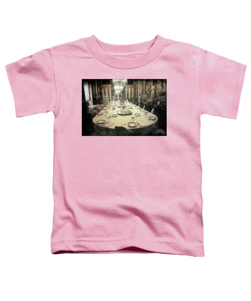 Invitation To Dinner At The Castle... Toddler T-Shirt
