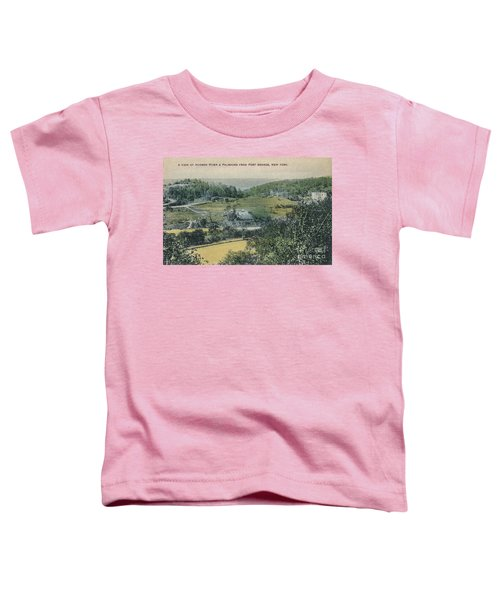Inwood Postcard Toddler T-Shirt by Cole Thompson