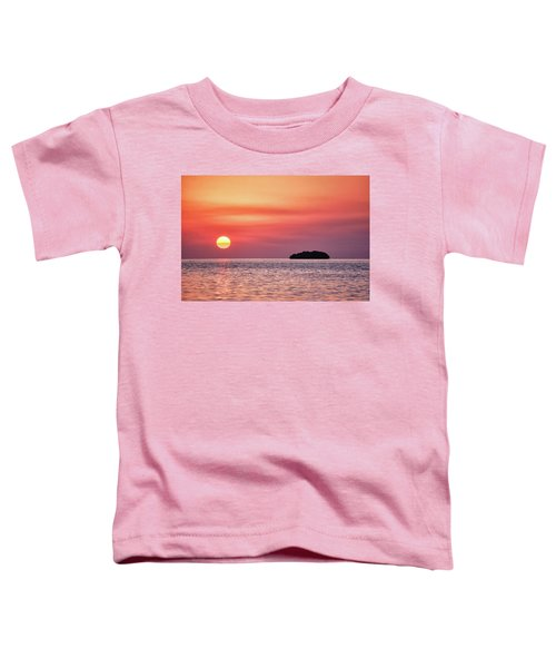 Island Sunset Toddler T-Shirt
