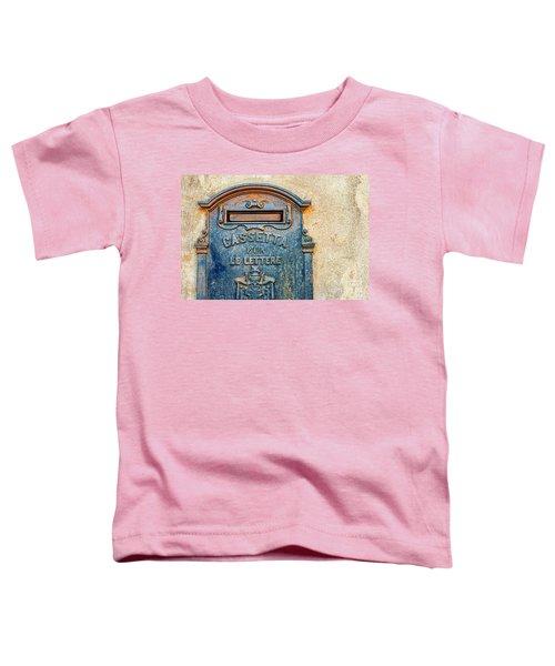 Italian Mailbox Toddler T-Shirt