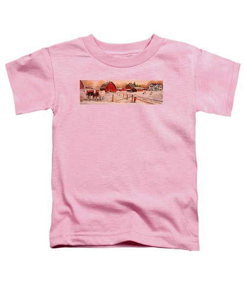 January Thaw Toddler T-Shirt