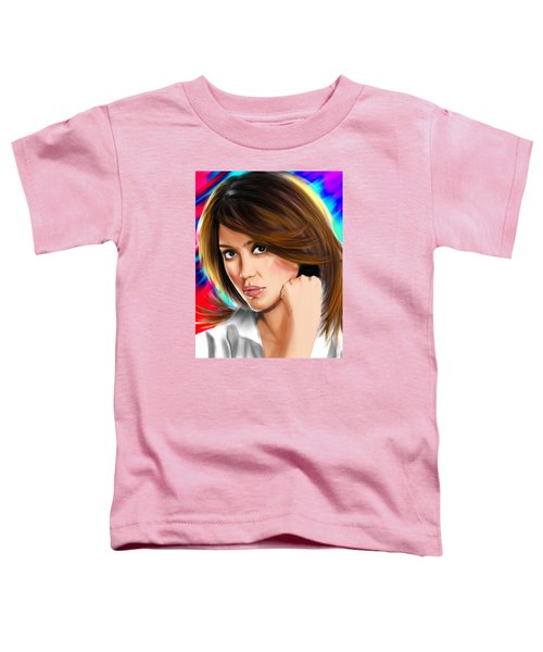 Jessica Alba Toddler T-Shirt