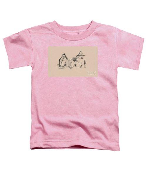 Jesus On Cross Liverpool Toddler T-Shirt