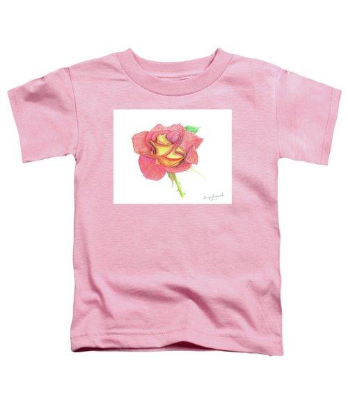 Ketchup And Mustard Rose Toddler T-Shirt