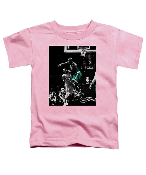 Kevin Garnett Not In Here Toddler T-Shirt by Brian Reaves