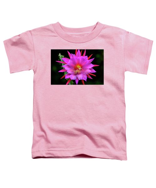 Kimnach's Pink Orchid Cactus Toddler T-Shirt