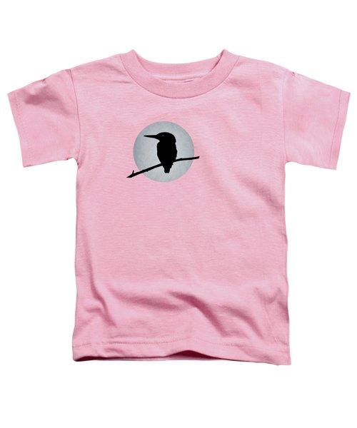 Kingfisher Toddler T-Shirt by Mark Rogan