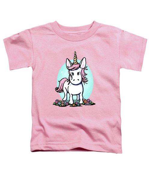 Kiniart Unicorn Sparkle Toddler T-Shirt