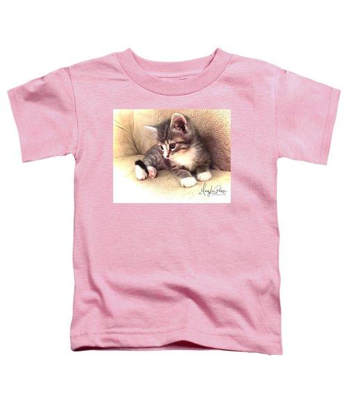 Kitten Deep In Thought Toddler T-Shirt