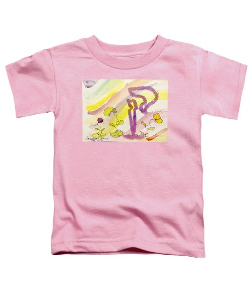 Kuf And Flowers Toddler T-Shirt