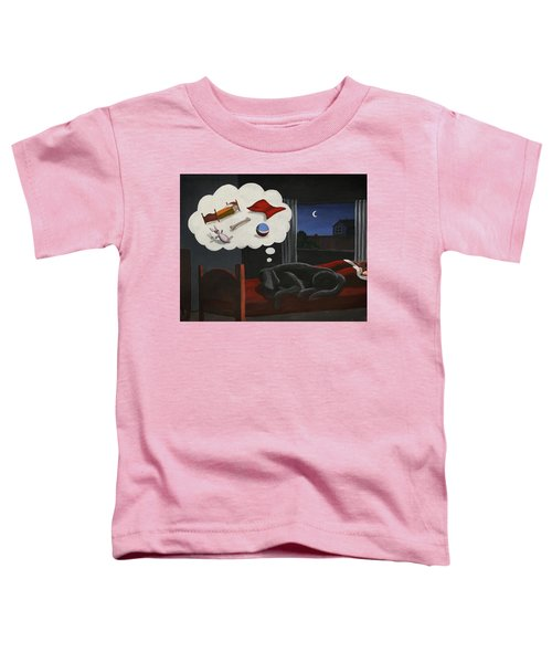Lady Dreams About Her Favourite Things Toddler T-Shirt