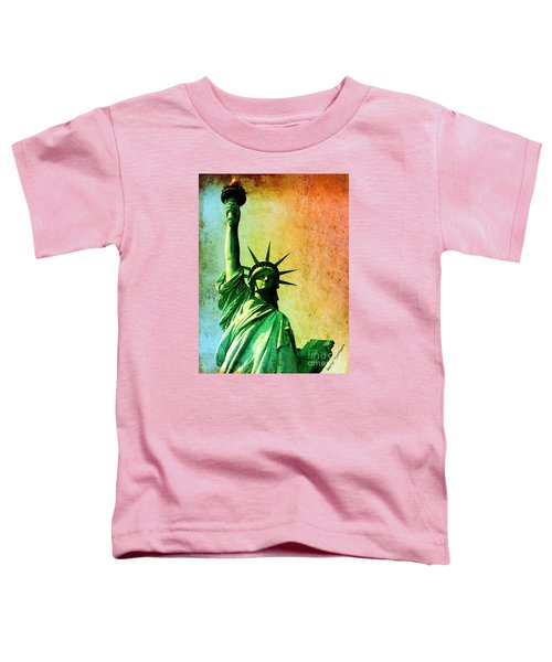 Lady Liberty Toddler T-Shirt