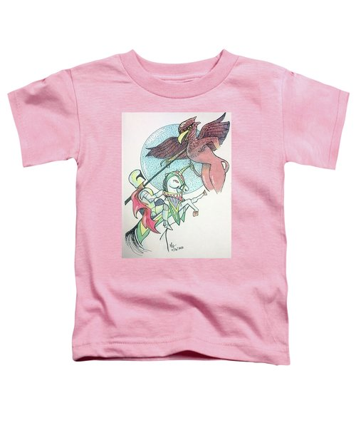 Lancelot And Griffin  Toddler T-Shirt